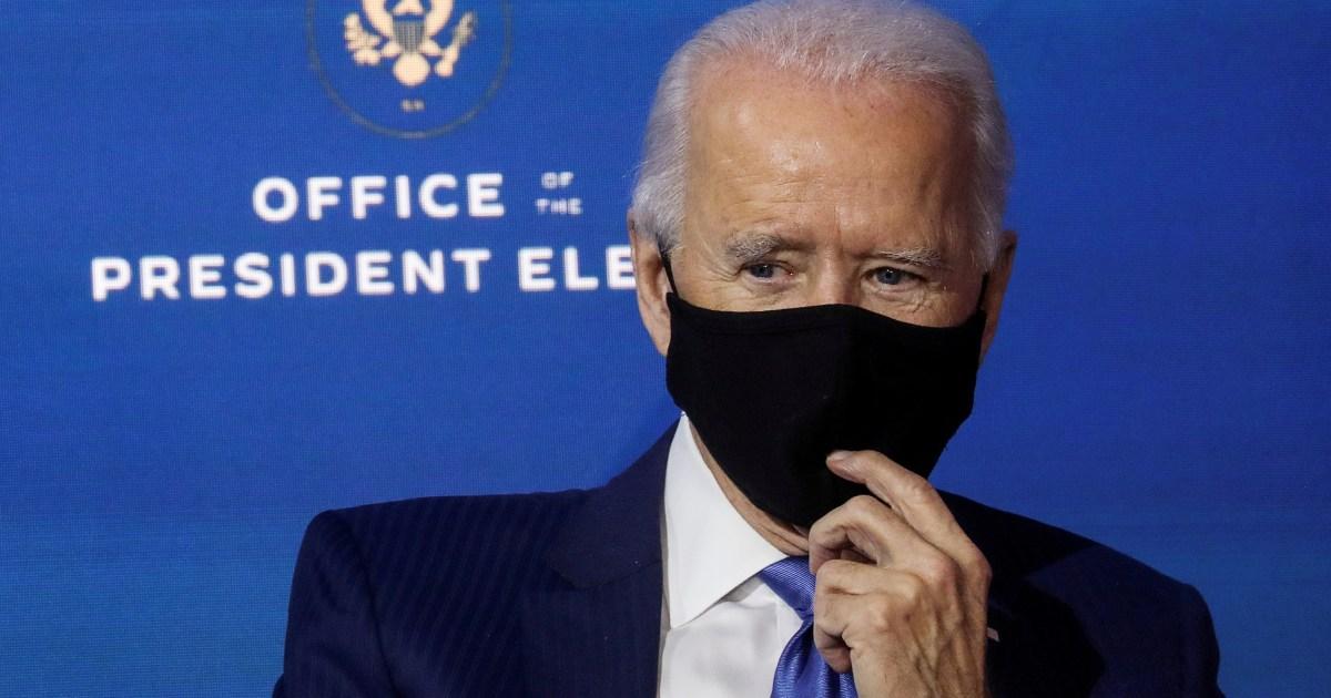 Biden asks Fauci to join COVID-19 team, stresses need for masks | US &  Canada | Al Jazeera
