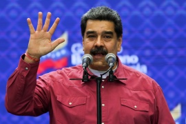 President Nicolas Maduro has seized total control of Venezuela's political institutions with a sweeping victory in legislative elections that were boycotted by the main opposition parties [Fausto Torrealba /Reuters]