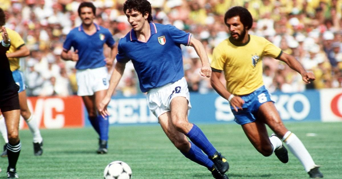 Italian football legend Paolo Rossi dies aged 64