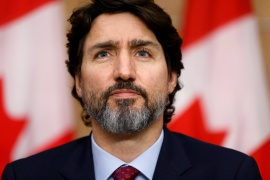The task force announced by Canadian Prime Minister Justin Trudeau's government suggests it is taking steps to address the uneven impacts the coronavirus pandemic has had on the labour market [File: Blair Gable/Reuters]