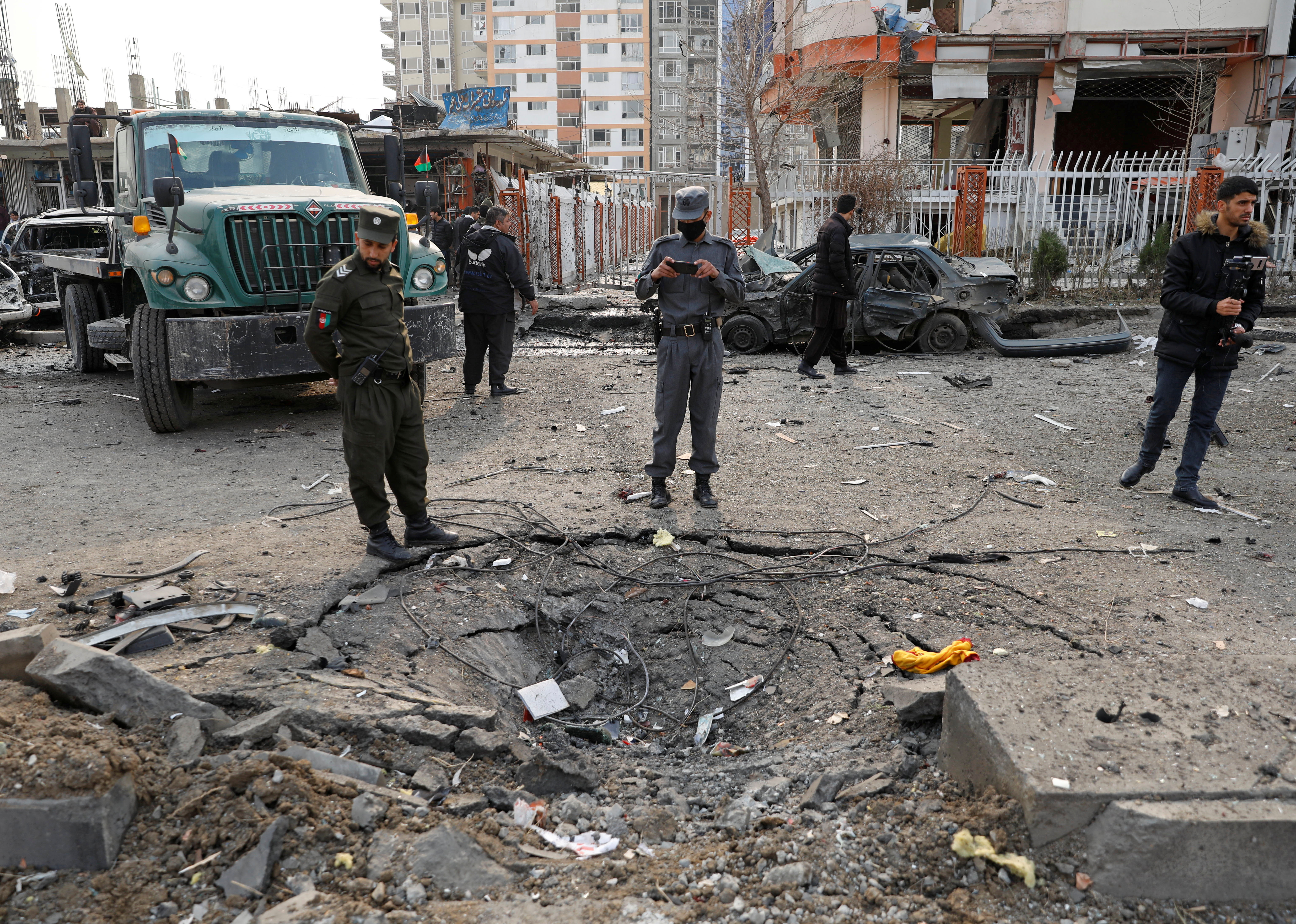 Vehicle bomb attack kills many in Afghan capital