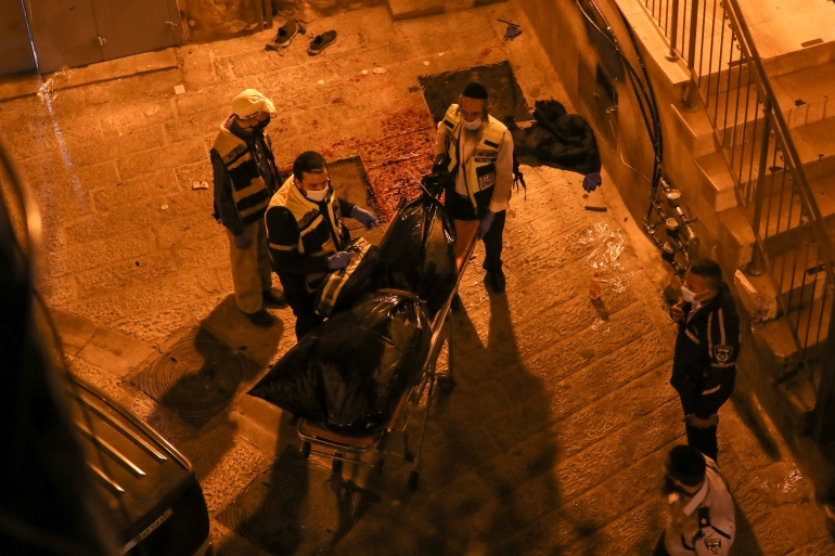 Deze afbeelding heeft een leeg alt-atribuut; de bestandsnaam is 2020-12-21T182820Z_588294766_RC2URK922SEX_RTRMADP_3_ISRAEL-PALESTINIANS-VIOLENCE-JERUSALEM.jpg