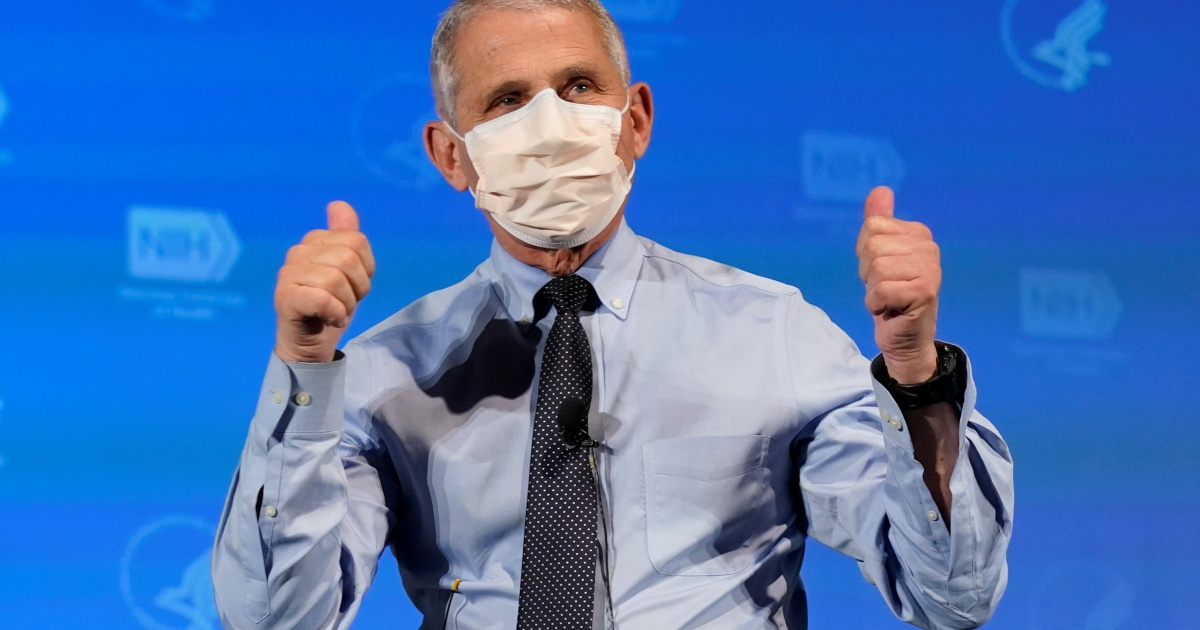 Washington, DC mayor declares December 24 'Dr Fauci Day' thumbnail