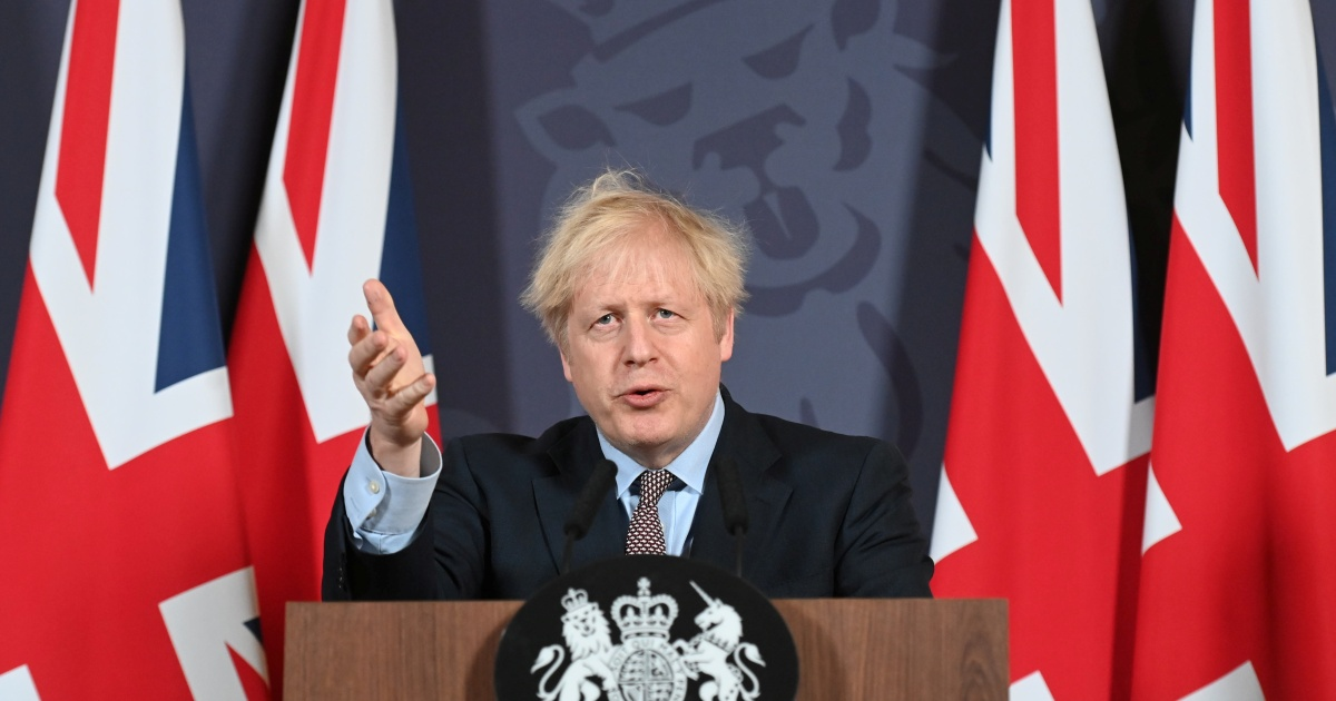 Boris Johnson orders new England COVID lockdown thumbnail
