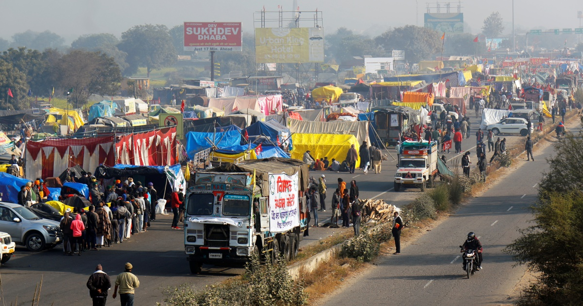 India farmers agree to meet gov't over new laws they want revoked thumbnail