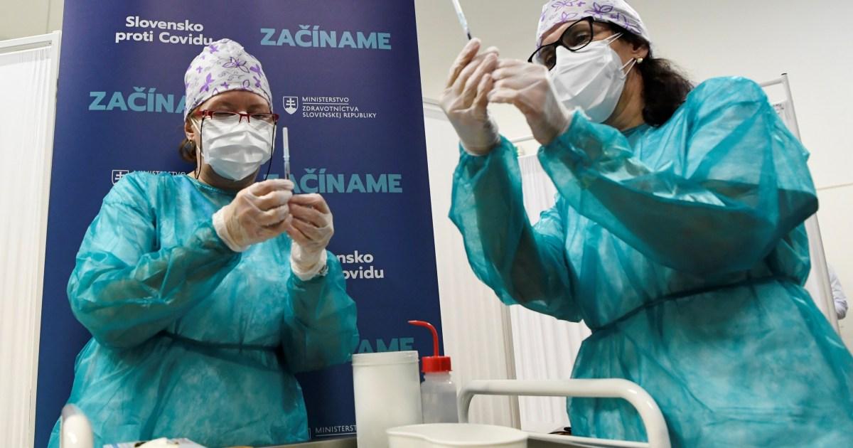 Η ΕΕ ξεκινά μαζική εκστρατεία εμβολιασμού COVID: Ζωντανά νέα    Πανδημία ειδήσεων Coronavirus