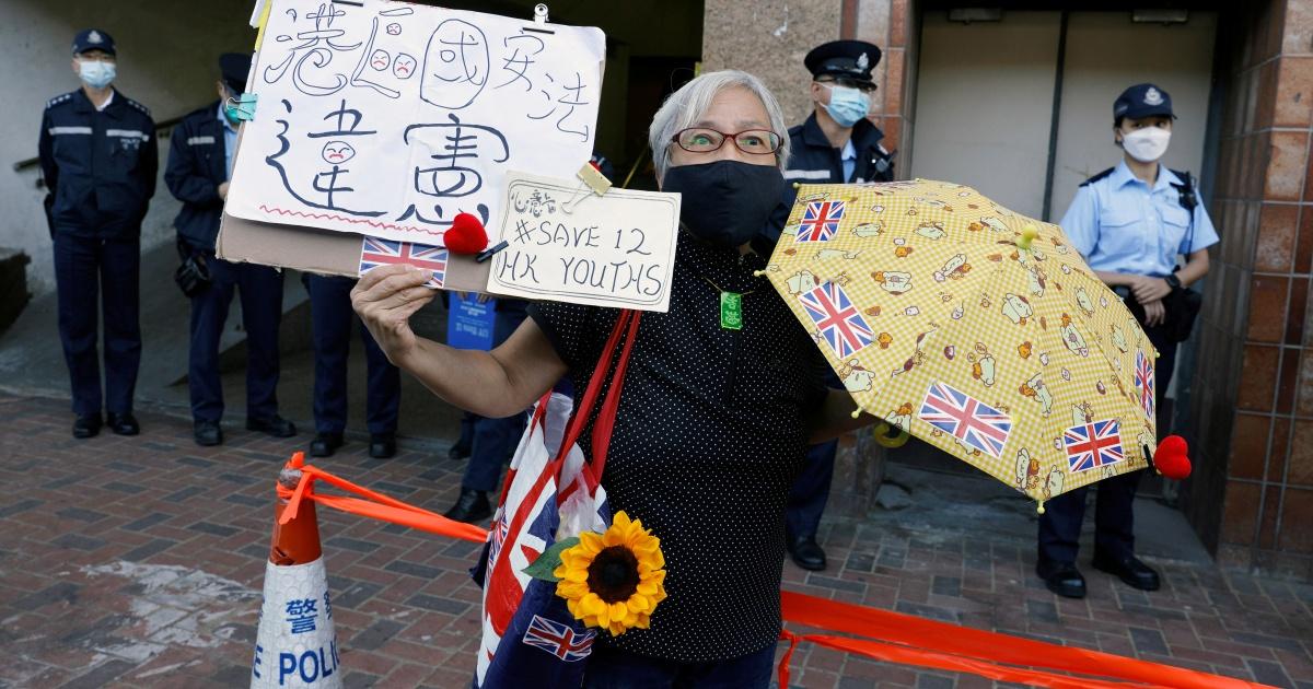 China jails 10 Hong Kong activists but two under-18s repatriated – Al Jazeera English