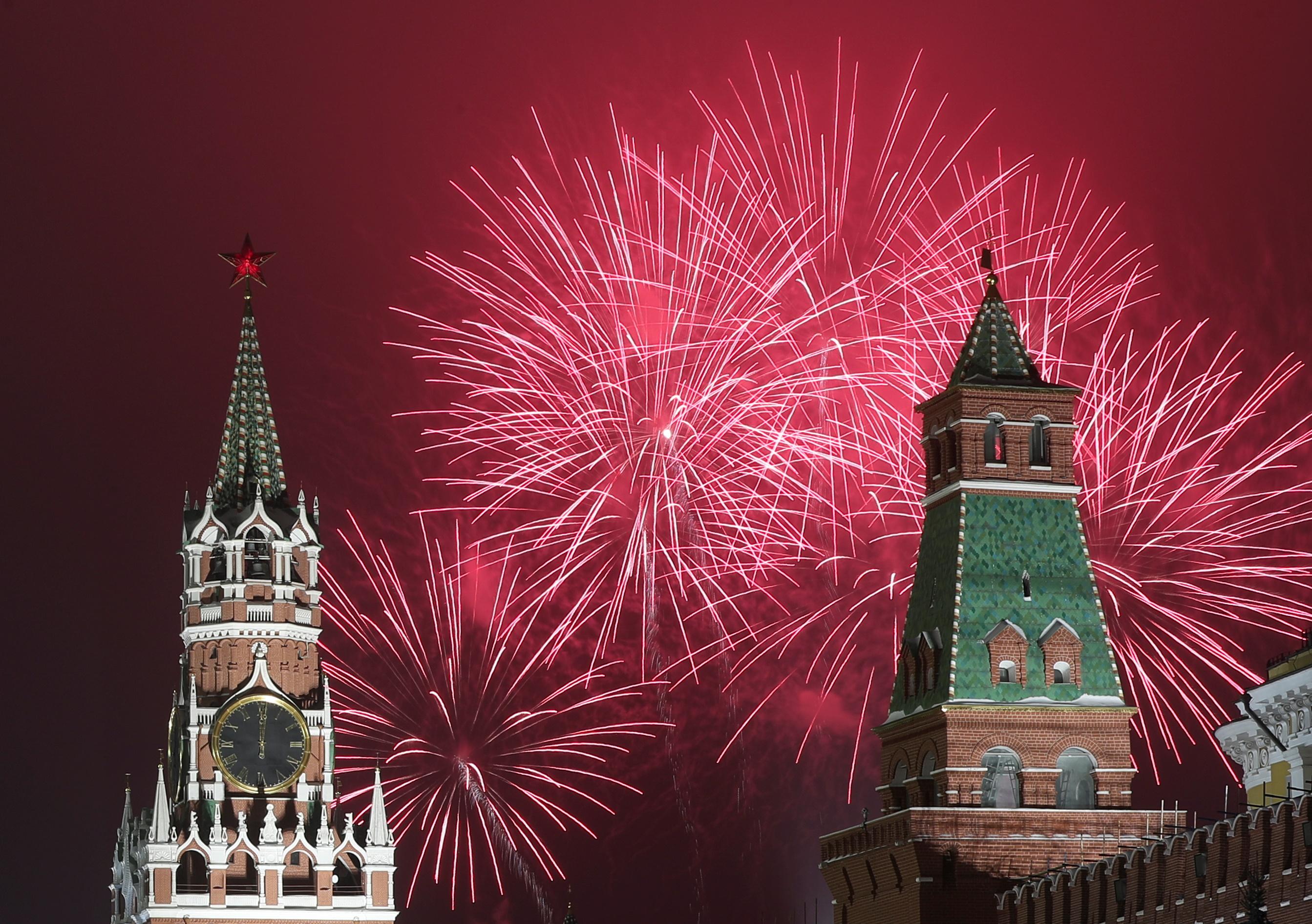 Υποδοχή του Νέου Έτους 2021 σε όλο τον κόσμο σε φωτογραφίες
