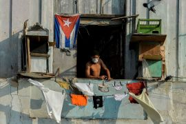 Cuba's socialist economy has been hurt by the slump in tourism income since the pandemic began, and was already suffering under the US embargo [File: Yamil Lage/AFP/Getty Images]