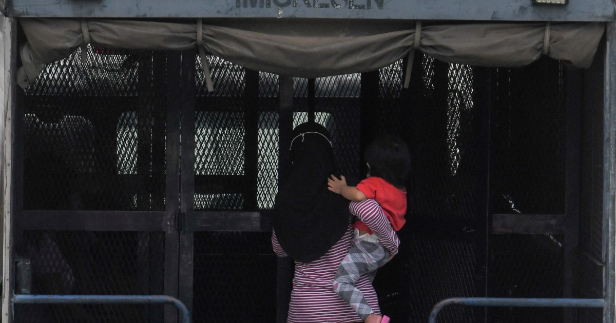 Lone children among hundreds in Malaysia immigration detention | Malaysia