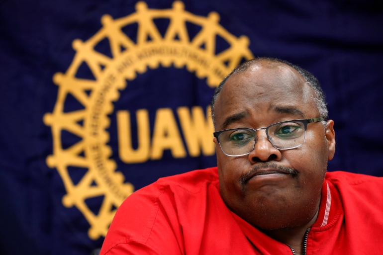 United Auto Workers union President Rory Gamble promised he would overhaul the UAW, and previously announced a series of ethics reforms, including increased financial oversight of the union's accounting department [File: Paul Sancya/AP Photo]