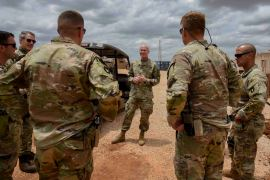 The United States Africa Command (AFRICOM) has between 650 to 800 troops on average in Somalia [Senior Airman Kristin Savage/Combined Joint Task Force - Horn of Africa via AP]