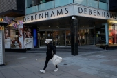 In another dark day for the British retailing industry, Debenhams said Tuesday it will start liquidating its business after a potential buyer of the company pulled out [Matt Dunham/AP]