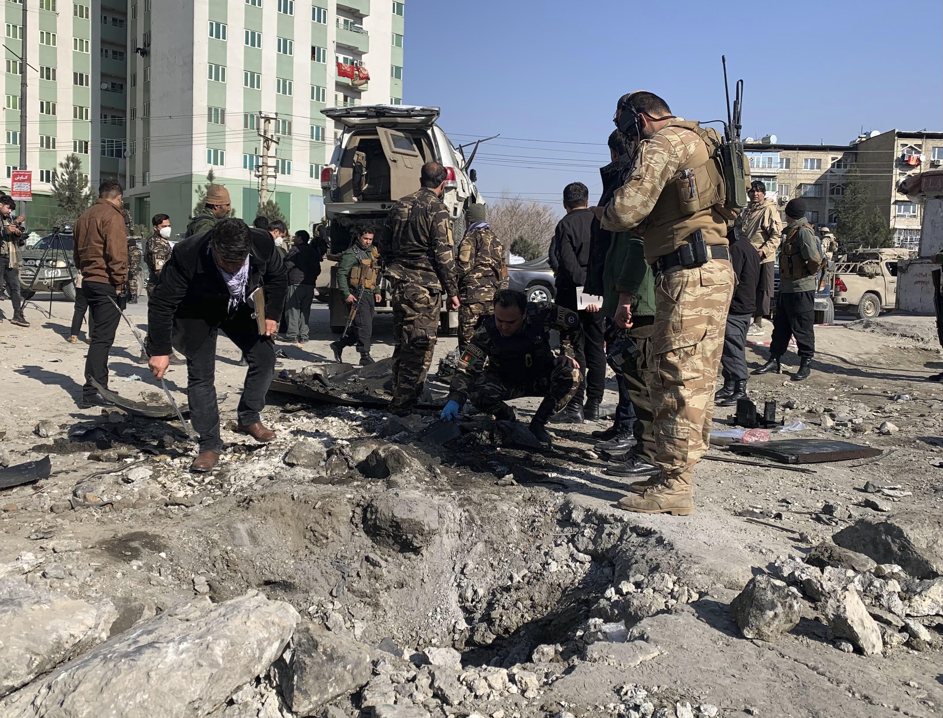 Vehicle bomb kills Kabul deputy governor, Mohammadi