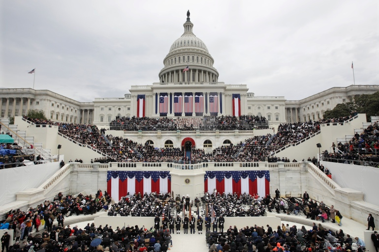 Biden S Inauguration Will Not Be The Largest Ever By Design Us Elections 2020 News Al Jazeera
