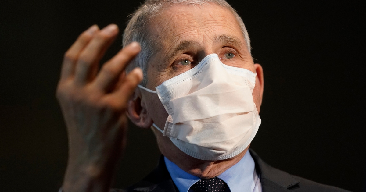 Fauci warns US COVID-19 outbreak may worsen after holidays thumbnail