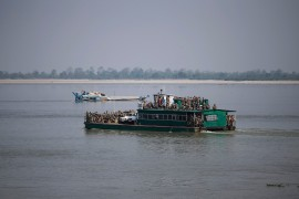 Some analysts warned that damming the Brahmaputra could potentially develop into another flashpoint, as Beijing's dam-building activities moved closer to the Indian border [File: Adnan Abidi/Reuters]
