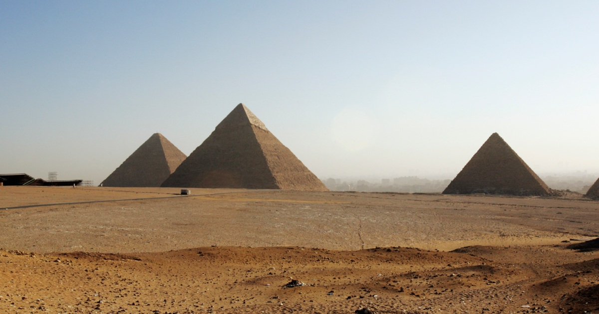 Ancient Egypt: A pyramid scheme that worked