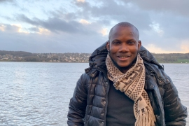 Lassana Bathily was 24 when an attacker entered the supermarket he worked at and killed four people [Courtesy of Lassana Bathily]