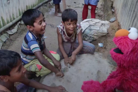 Rohingya Muppets [Courtesy: Sesame Workshop/Ryan Donnell via Reuters]