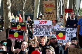 The panel said that Australia's Indigenous people 'were let down' by the mining company as well as the state and federal governments [File: Richard Wainwright/EPA]