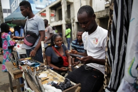 The report said a telecom surveillance company by the name of Circles has been helping state security apparatuses across 25 countries, including Nigeria [Akintunde Akinleye/EPA]