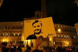 Exclusive: Video shows Egyptians monitored Giulio Regeni