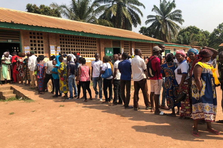 Presidential elections in the Central African Republic took place on December 27, 2020 [Evelyn Kahungu/Al Jazeera]