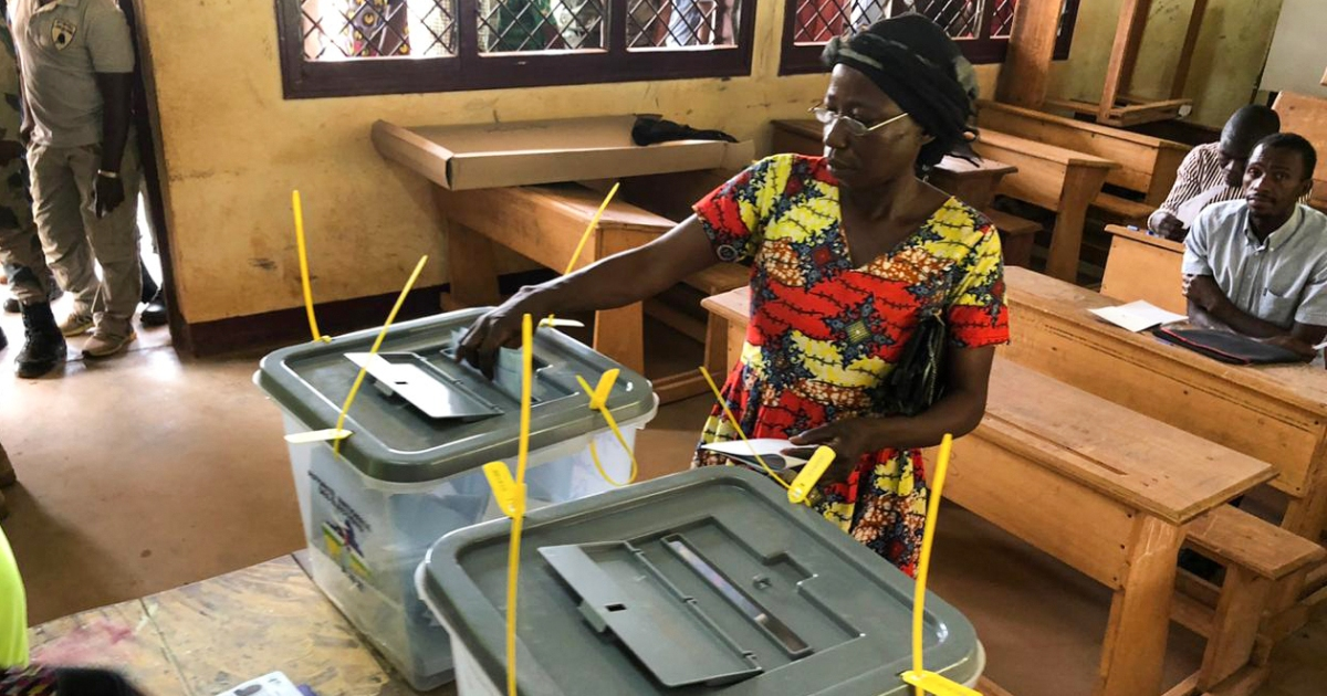 2021-02-13 16:37:26   CAR to hold runoff parliamentary elections in March   Elections News