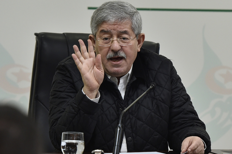 Ouyahia says he previously kept quiet about the matter so as 'not to undermine the relations between Algeria and certain friendly countries' [File: Ryad Kramdi/AFP]