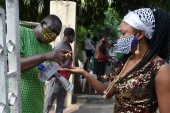 In April last year, black market coronavirus tests flourished in Nigeria [File: AFP]