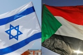Sudan and Israel agreed in October 2020 to normalise relations in a US-brokered deal that made Sudan the fifth Arab country to do so [File: Jack Guez and Ashraf Shazly/AFP]