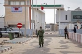 Morocco launched a military operation on November 13 in the buffer zone of Guerguerat [File: Fadel Senna/AFP]