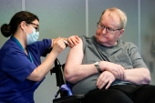 Norway is currently vaccinating residents of care homes, including those with serious underlying diseases [File: Fredrik Hagen/NTB/AFP]
