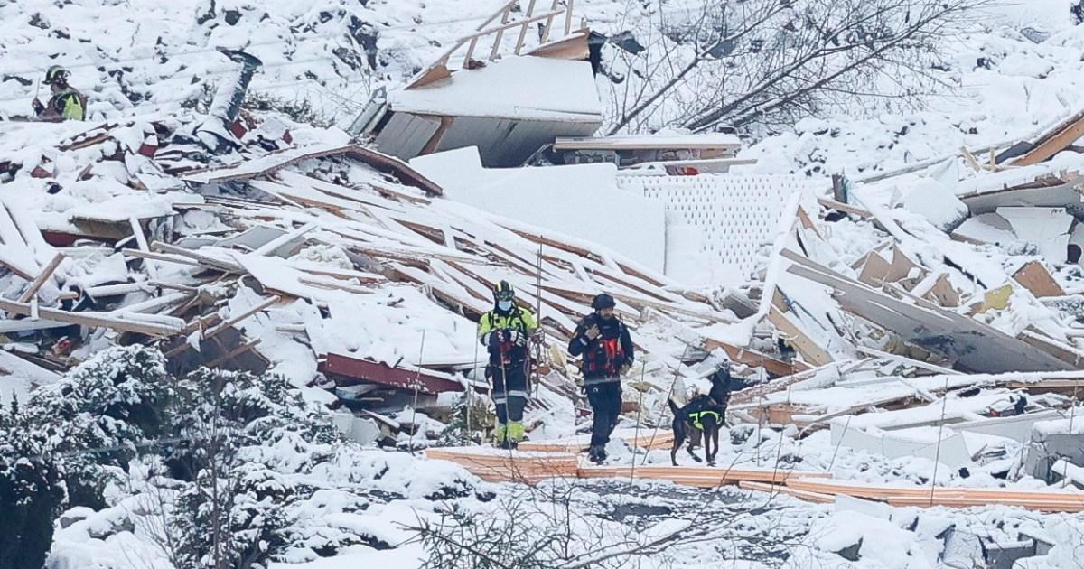 Fourth body found after Norway landslide