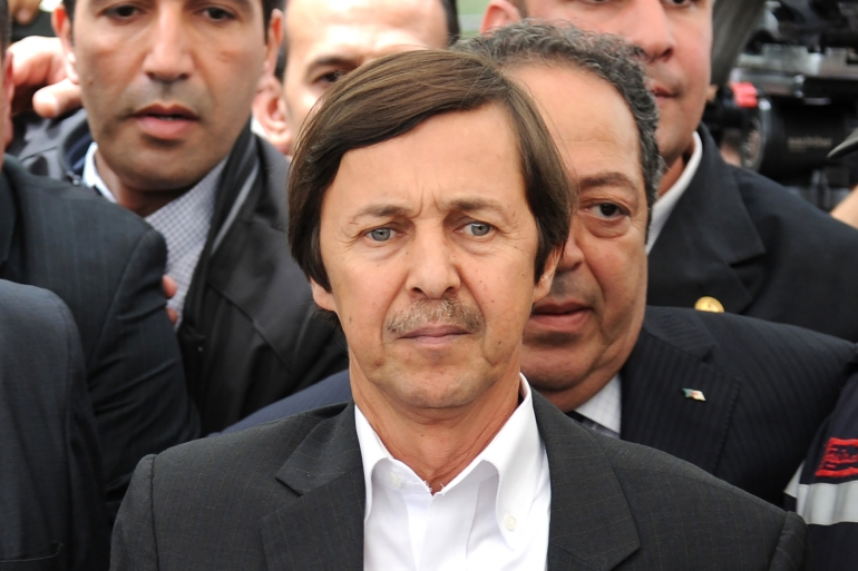 Said Bouteflika, brother of the former Algerian president, remains in custody over alleged corruption charges [File: AFP]