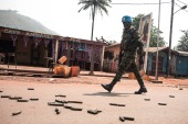 The UN envoy to CAR says the country 'is at serious risk of a security and peacebuilding setback' [File: Forent Vergnes/AFP]
