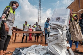 Washington called on the Ugandan government to hold to account those responsible for the 'flawed election conduct' [File: Sumy Sadurni/AFP]