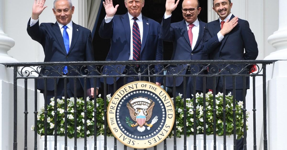 <div>2021-01-29 21:33:18 | Trump went around Palestinians to get UAE, Bahrain, Israel accord | US & Canada News</div>