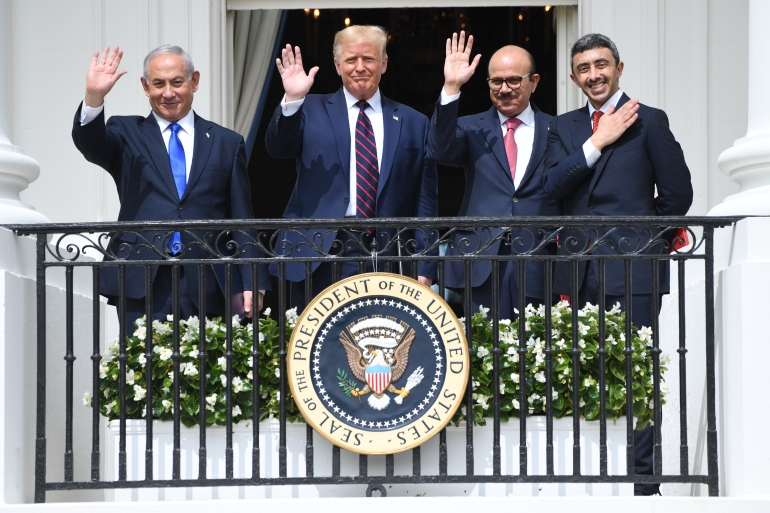 The White House designation comes in the final days of President Donald Trump's administration [File: Saul Loeb/AFP]