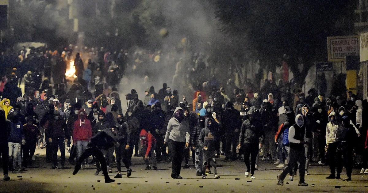 Tunisia President Saied urges protester restraint on 4th day - aljazeera