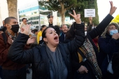 Many people rallied in the capital Tunis and the city of Sousse on Wednesday [AFP]