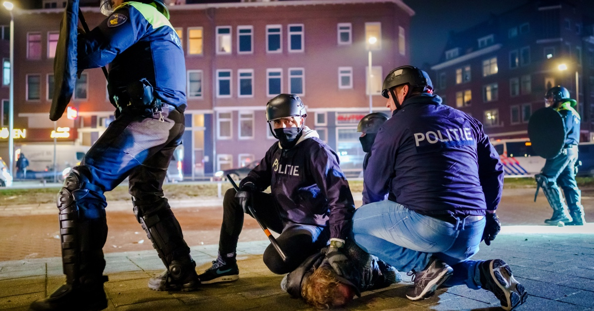 Netherlands rocked by third night of rioting over COVID curfew
