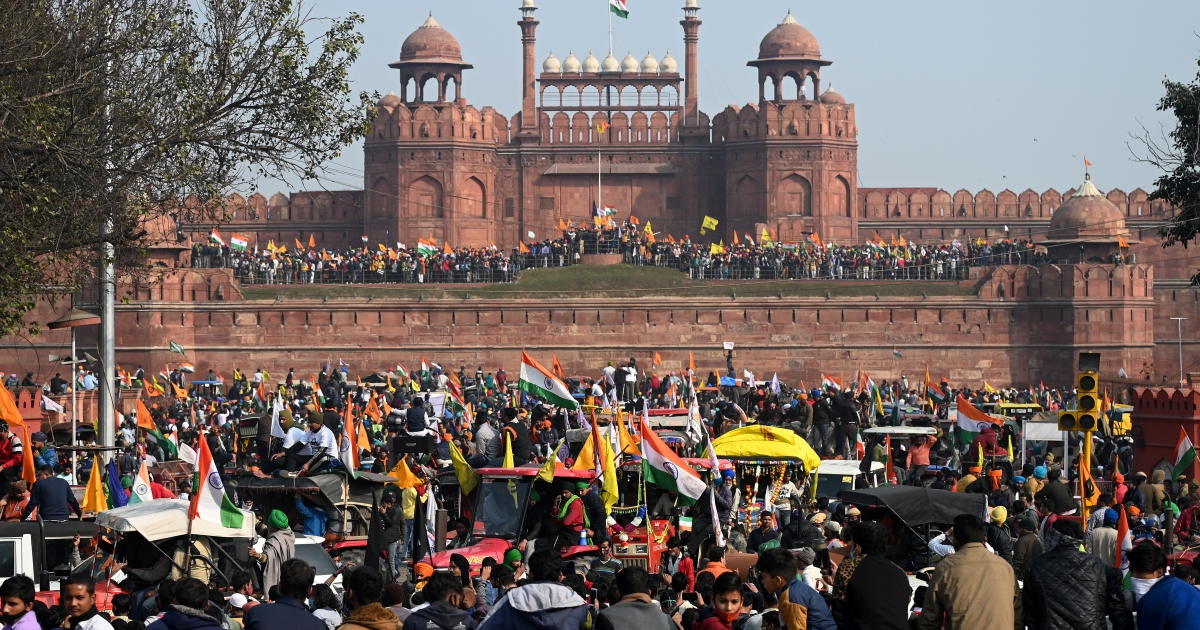 Image result for red fort riots