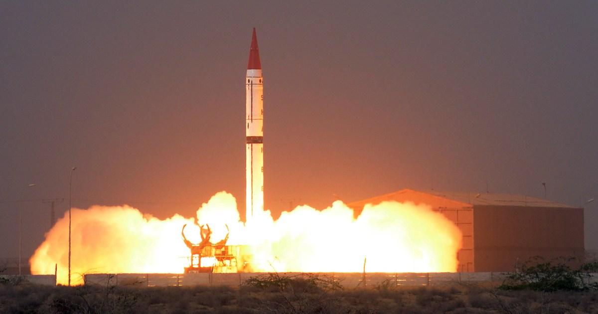 Pakistan efficiently checks medium-range missile