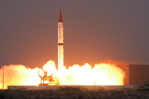 Pakistan is one of eight nations worldwide with stated nuclear weapon capability [File: HO/ISPR/AFP]