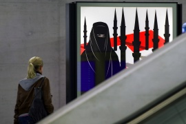 The Swiss are set to vote on whether they want to ban full facial coverings in public on March 7 [File: Fabrice Coffrini/AFP]