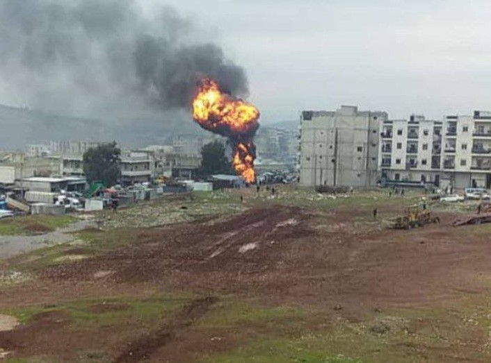Several killed as bomb blast hits Afrin in northern Syria