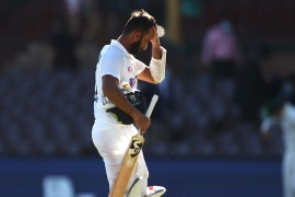The Indian team lodged an official complaint after play on Saturday [Ryan Pierse/Getty Images)