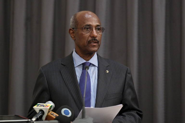Seyoum Mesfin was Ethiopia's foreign minister for nearly two decades [File: Tiksa Negeri/Reuters]
